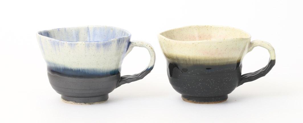 広口コーヒーカップセット