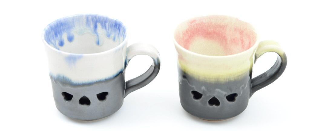 二重コーヒーマグ