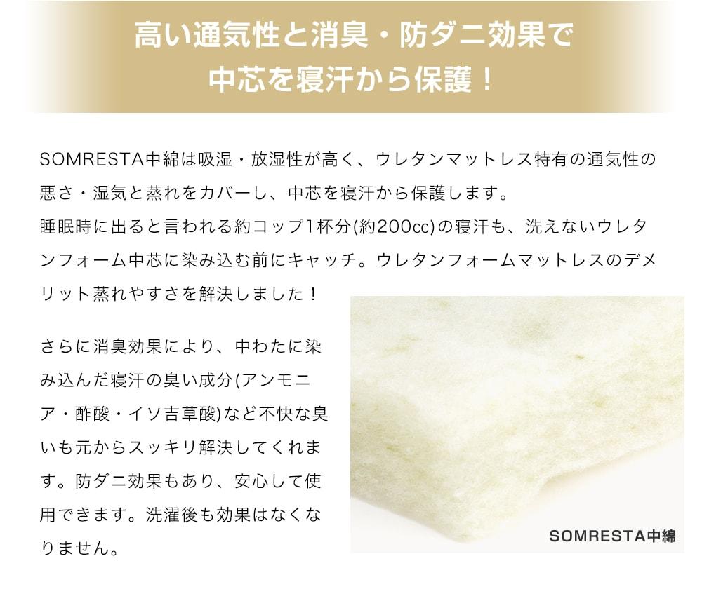 SOMRESTA中綿