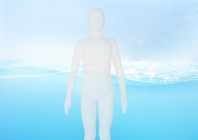 私たちの体は約60%(20歳男性)が水でできている