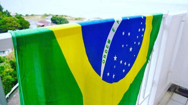 ブラジル国旗カンガ