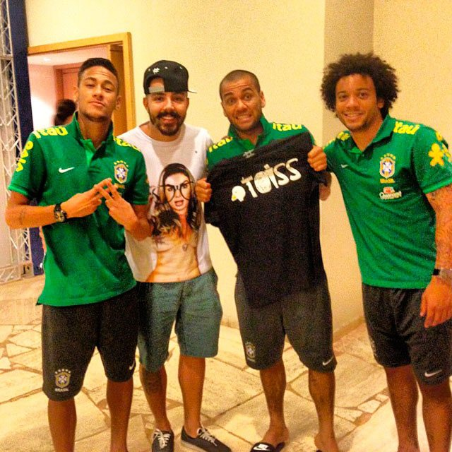 ブラジル代表はTOISS愛用