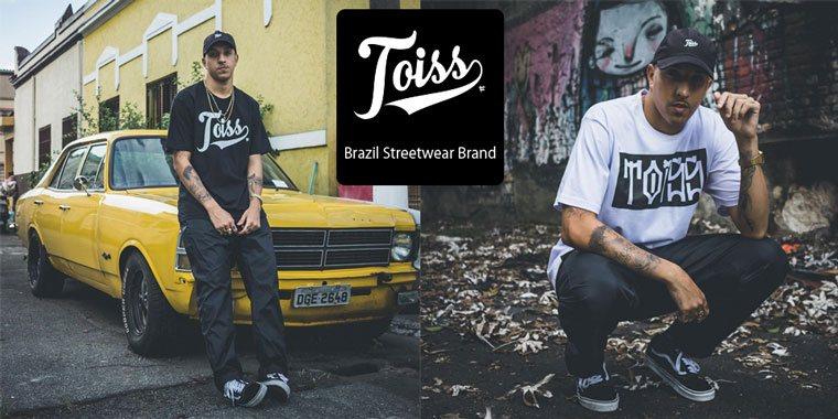 TOISS(トイス)ブラジルストリートファッションブランド