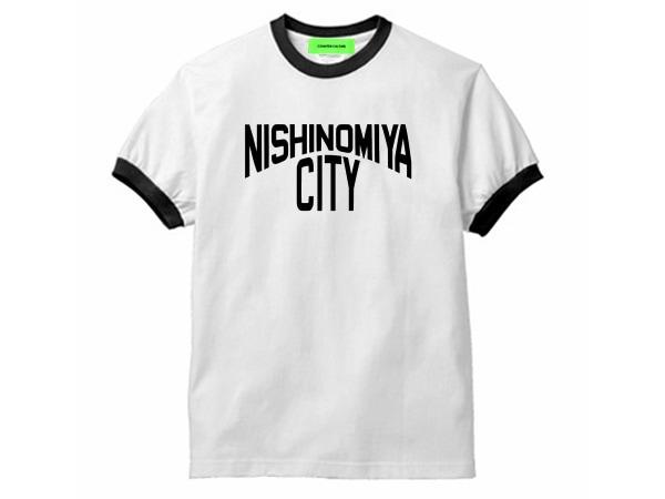 NISHINOMIYA CITY Ringer Tシャツ