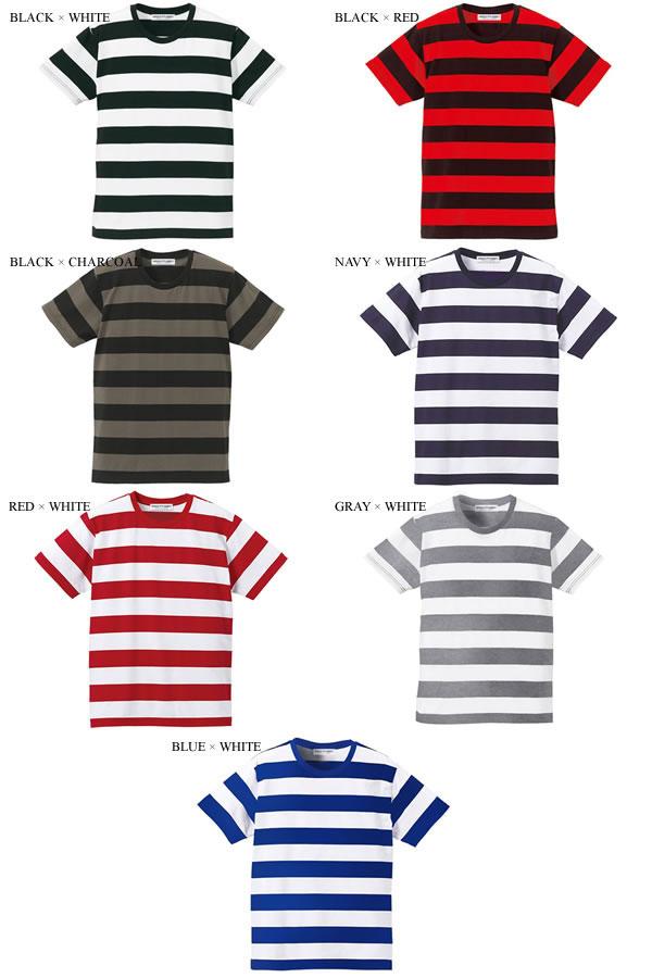 ボールドボーダー T-shirt