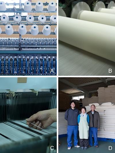 ちぢみを織る Weaving Chijimi