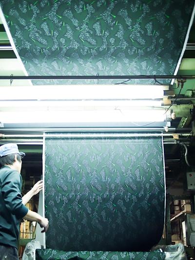 柄を染める Printing Patterns