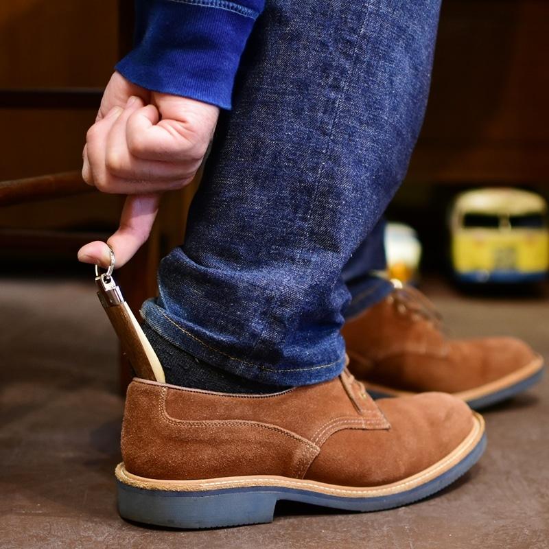 靴べら キーホルダー 桐 マホガニー 木製 ウッド ギフト プレゼント 可愛い プレゼント ギフト 温もり wood