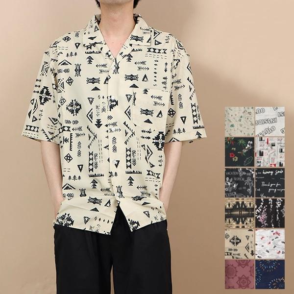 プリントオープンシャツ商品イメージ