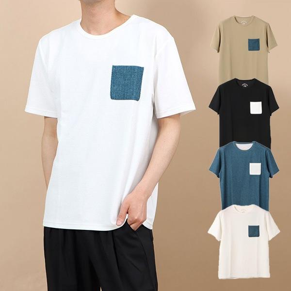 ポケット付きTシャツの商品イメージ