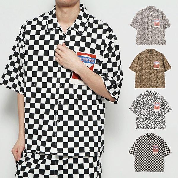 総柄ブッチャーシャツの商品イメージ