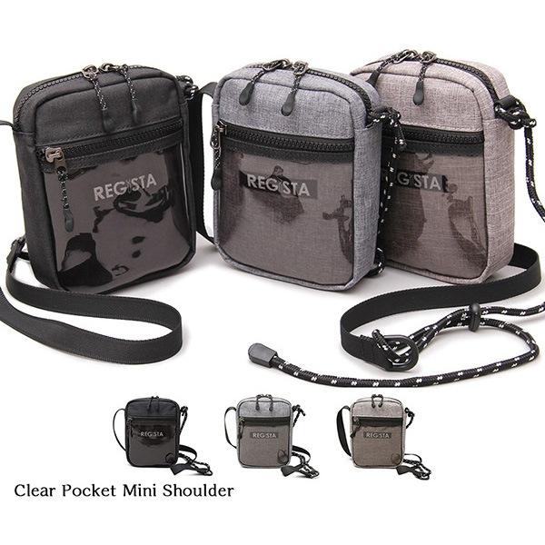 クリアポケットショルダーバッグの商品イメージ