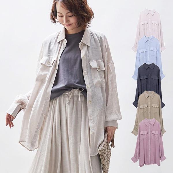 シアーオーバーシャツの商品イメージ