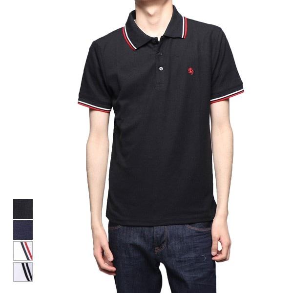 刺繍ラインドライポロシャツの商品イメージ