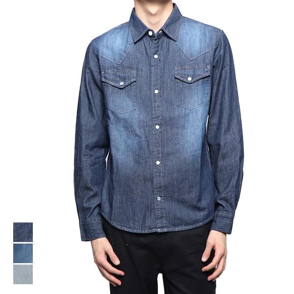 長袖デニムシャツの商品イメージ