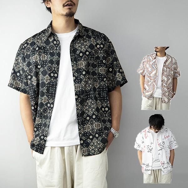 総柄ビッグシャツの商品イメージ