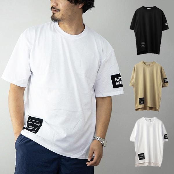 ワッペン使いビッグTシャツの商品イメージ