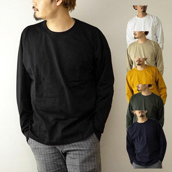 首リブビッグロンTシャツの商品イメージ
