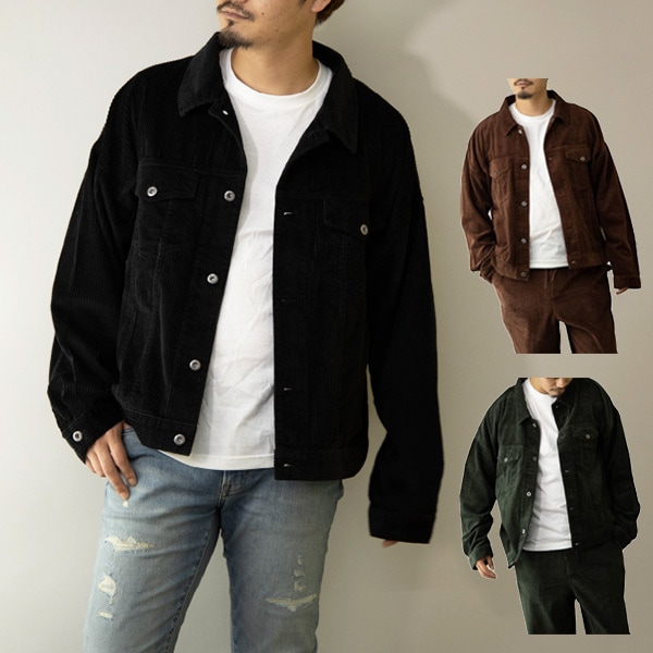 太コールジャケットの商品イメージ