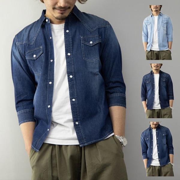 デニムウェスタンシャツの商品イメージ