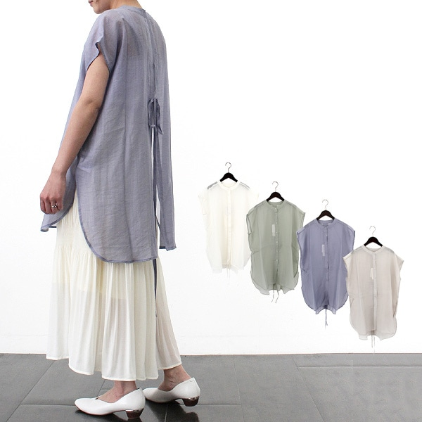 シアーバックスリットシャツの商品イメージ