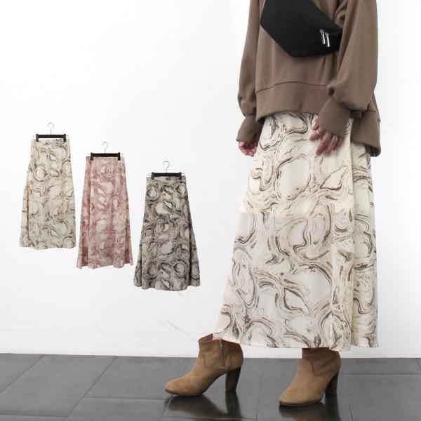 マーブルマーメイドスカートの商品イメージ