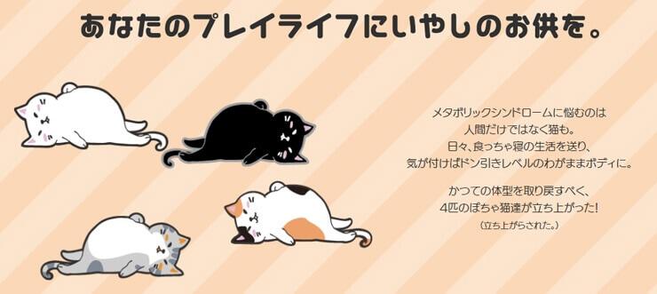 GOSEN ぽちゃ猫 キャラクター1 ぽちゃねこ pochaneco