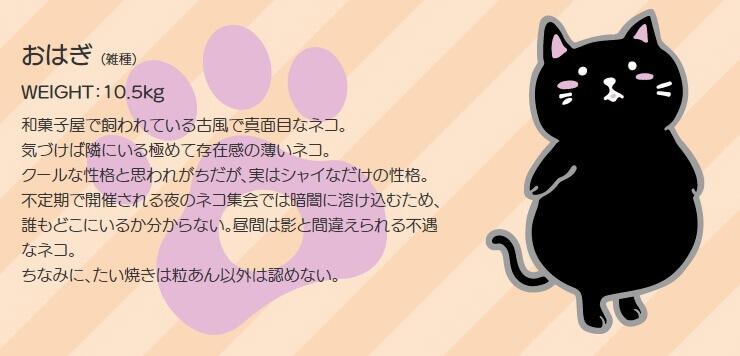 GOSEN ぽちゃ猫 キャラクター3 ぽちゃねこ pochaneco
