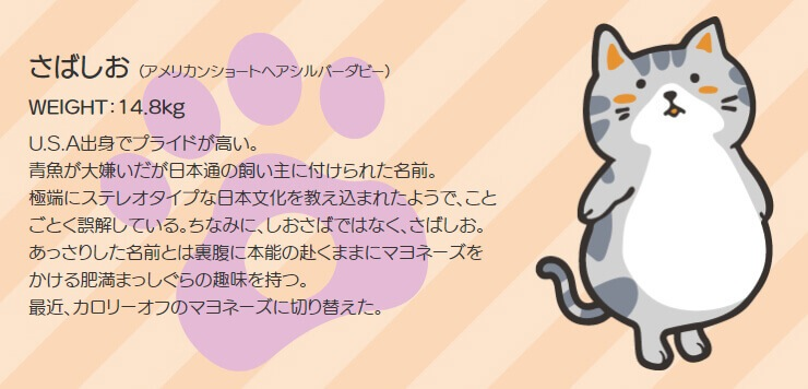 GOSEN ぽちゃ猫 キャラクター4 ぽちゃねこ pochaneco