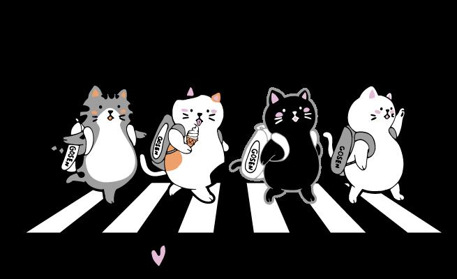 GOSEN ぽちゃ猫シリーズ pochaneco