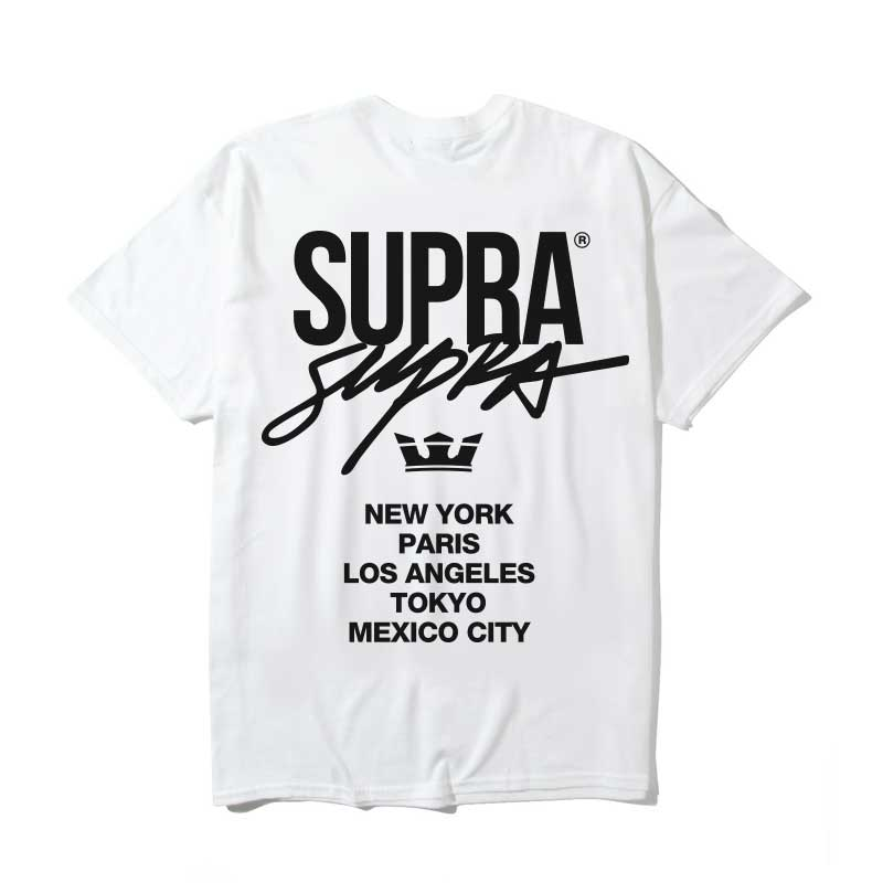 5CTY T-SHIRT / WHITE