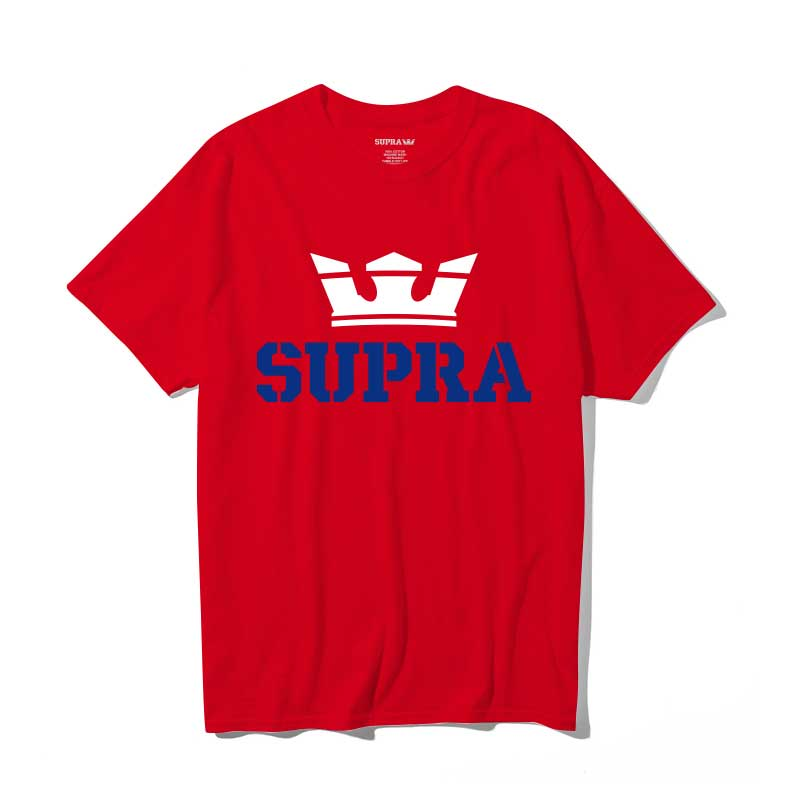 ABOVE REGULAR S/S T-SHIRT / RED WHITE ROYAL