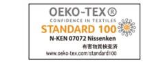 世界が認める繊維製品の安心・安全の証エコテックス®認証