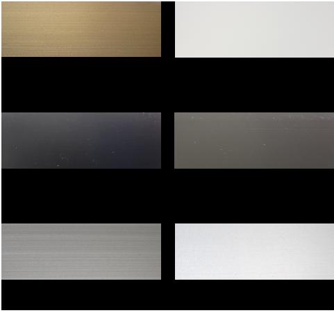上げ下げ網戸の枠のカラーバリエーション:ブロンズ (B)一般的なブロンズYKKブロンズは不適合 3Nカラー (BKC) 三協アルミブラックに適合三協 ホワイト (H)三協アルミホワイトに適合 シャイングレー(R)LIXILシャイングレーに適合 アイボリー (YW)LIXIL、YKKホワイトに適合 オータムブラウン (G)LIXILオータムブラウンに適合 プラチナステン(H2)YKKプラチナステンに適合 ブラック (K)一般的なブラックYKKブラックには不適合