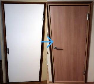 ジャストフィット室内防音ドア(DIYサポート付)ご利用のお客様事例