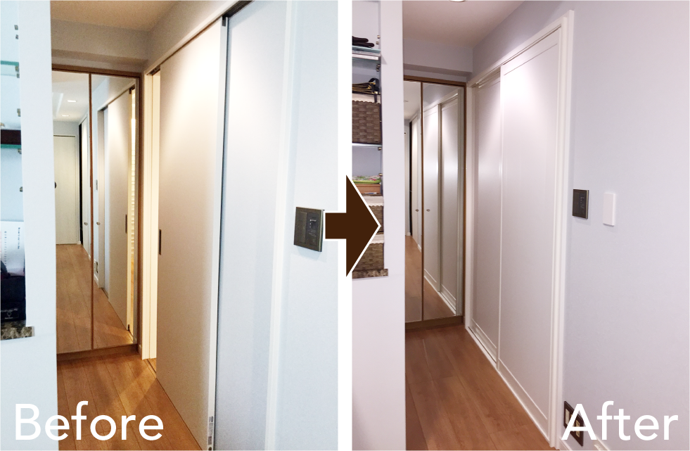 室内防音引戸設置導入事例