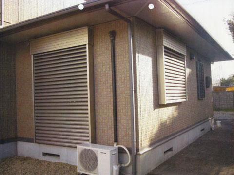 電動シャッター化工事の導入事例