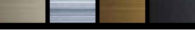 フィルター網戸枠のカラーバリエーション(セイキ販売):ステンカラー、シルバー、ブロンズ、ブラック