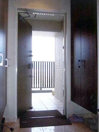 取付前玄関