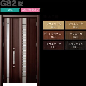 玄関ドアLIXILリシェント3 断熱仕様K4 G82型