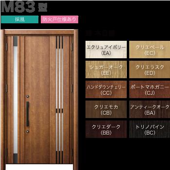 玄関ドアLIXILリシェント3 断熱仕様K4 M83型