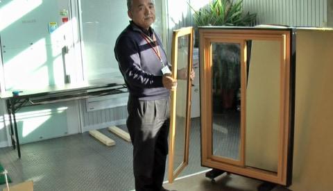 1.障子を窓枠から外す