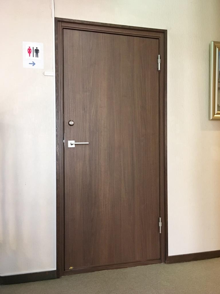 客室防音ドア リフォーム後(廊下側)