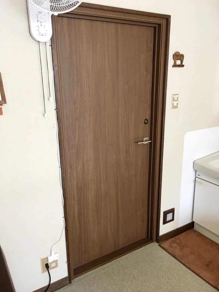 客室防音ドア リフォーム後(客室側)