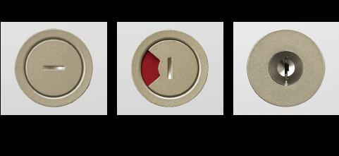 リノバ室内引戸の錠(簡易錠、表示錠、シリンダー錠)
