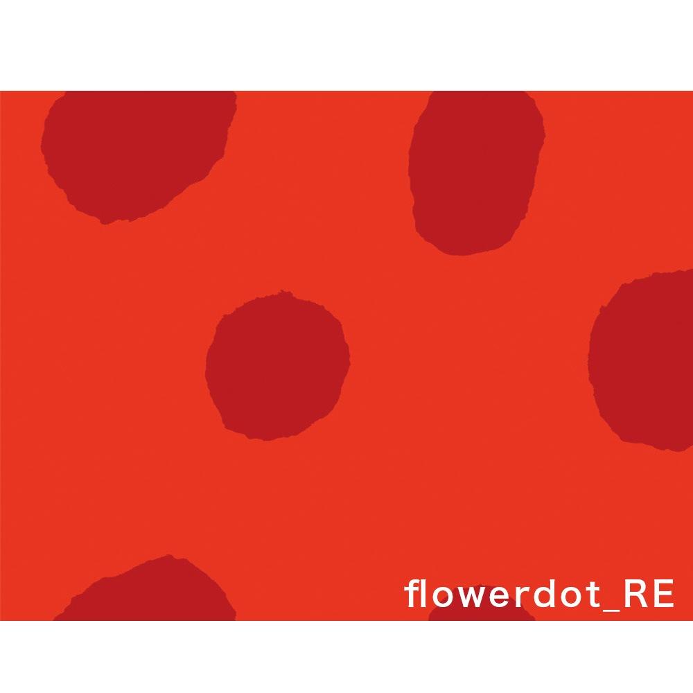 はしもとなおこ flowerdot red
