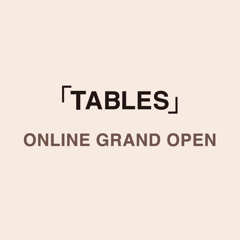 タブレスオンラインショップオープン