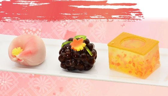 11月季節の上生菓子バナー