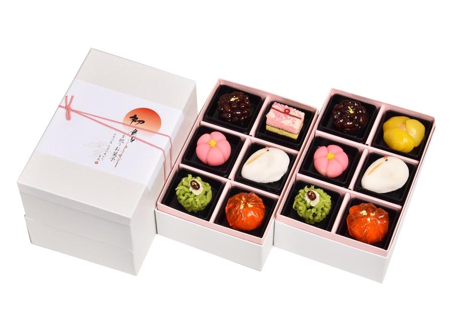 新春上生菓子(二段重)12個入