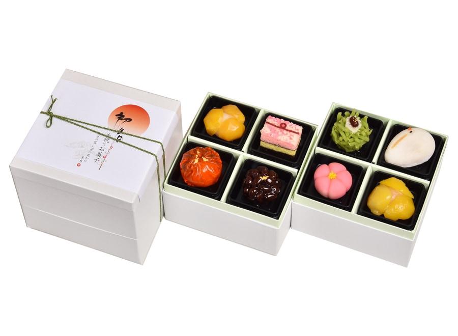 新春上生菓子(二段重)8個